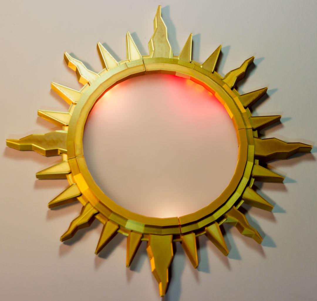 LED Sun Clock